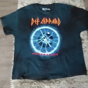 NEW! DEF LEPPARD T-SHIRT DRESS